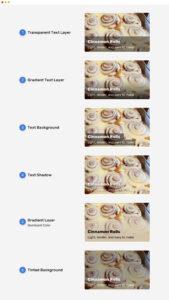 варианты решения проблемы текста поверх изображения