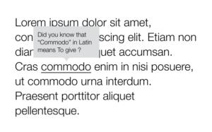 Всплывающая подсказка (tooltip) с текстом